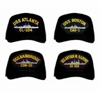 Navy Cruisers and Destroyers Ball Caps