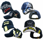 Navy Direct Embroidered Caps