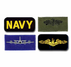 Navy Flight Suit Bars and Rank Insignia