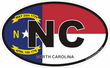 North Carolina Decals Stickers