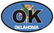 Oklahoma Decals Stickers