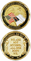 ONWARD CHRISTIAN SOLDIER Challenge Coin