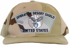 'Operation Desert Shield, United States' Desert Camo Ball Cap