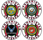Operation Enduring Freedom Afghanistan Decals, Caps, Lapel Pins, T-Shirts and Patches