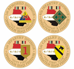 Operation Iraqi Freedom Lapel Pins