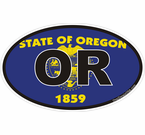 Oregon State Decals Stickers