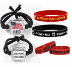 Patriotic Wrist Bands
