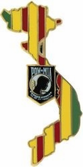 POW MIA Vietnam Ribbon Lapel Pin
