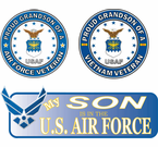 Proud Air Force Family Decals