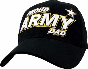 """Proud Army Dad"" Ball Cap"