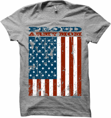 Proud Army Mom T Shirt