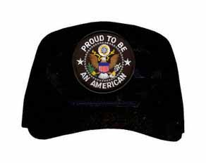 'Proud to be an American' with Seal Ball Cap