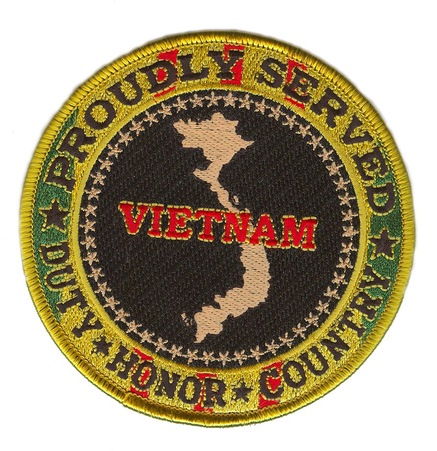 "U.S. Army Sergeant Vietnam Veteran 4"" Patch 