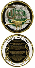 PSALMS 23 Challenge Coin