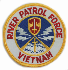 "River Patrol Force Vietnam 4"" Patch"