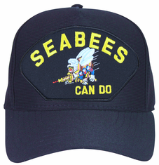 'Seabees Can Do' with Bee Logo Ball Cap