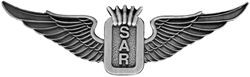 Search and Rescue Wings Lapel Pin