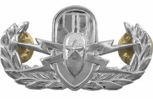 Senior Explosive Ordnance Disposal Badge