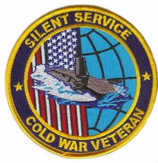 "Silent Service Cold War Veteran 4"" Patch"
