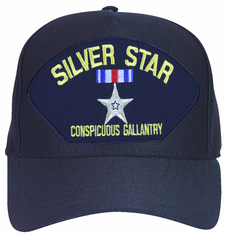 Silver Star for Conspicuous Gallantry Ball Cap