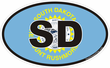 South Dakota State Decals Stickers
