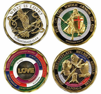 Spiritual and Faith Based Coins