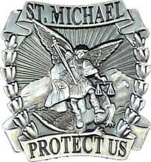"St Michael 1"" Lapel Pin"
