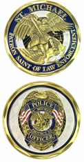 St Michael Challenge Coin