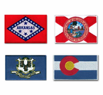 STATE FLAG SHOULDER PATCHES