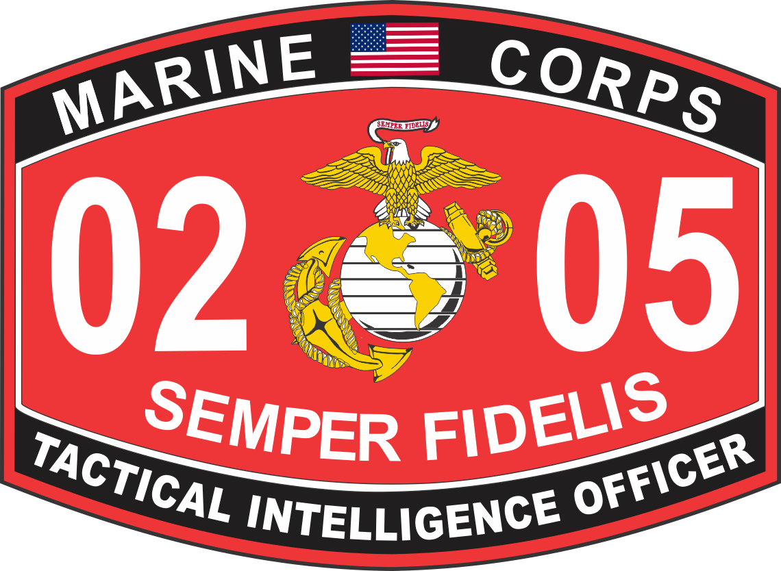 Marine Decal, Military Decal, US Marine Corps Decal, The Few The Proud,