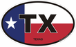 Texas Decals Stickers