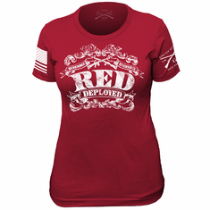The Red Shirt II Ladies Grunt Style T-Shirt