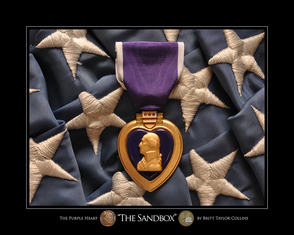 """THE 'STAN"" Purple Heart for Afghanistan War"