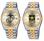 Two Toned Military Watches