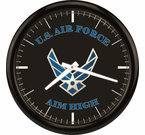 U.S. Air Force Wall Clocks