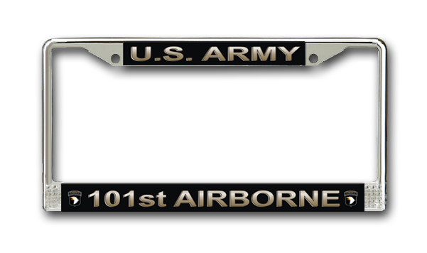 U.S. Army 101st Airborne Division License Plate Frame