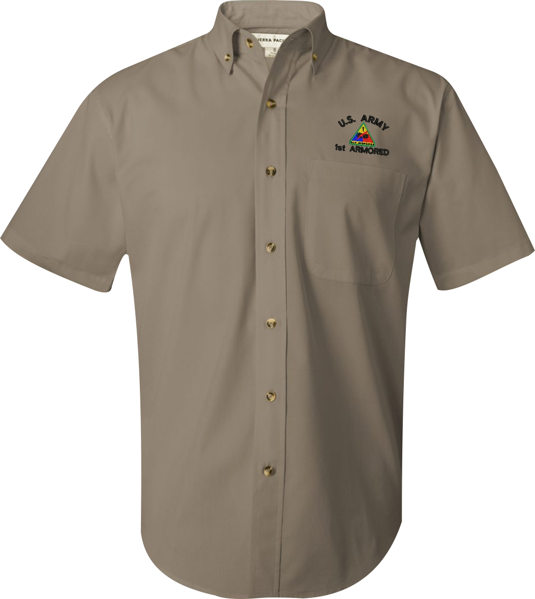 u s army custom embroidered dress shirts