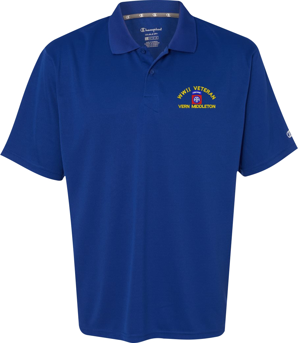 u s army custom embroidered moisture wicking polo shirts