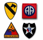 U.S. ARMY DIVISION PATCHES