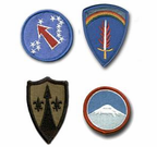 U.S. ARMY OVERSEAS PATCHES