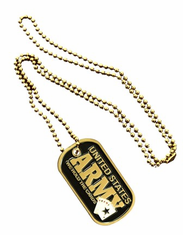U.S. Army 'We Hold The Cards' Dog Tag