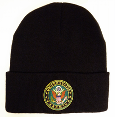 U.S. ARMY WITH LOGO WATCH CAP