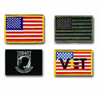 U. S. FLAG SHOULDER PATCHES