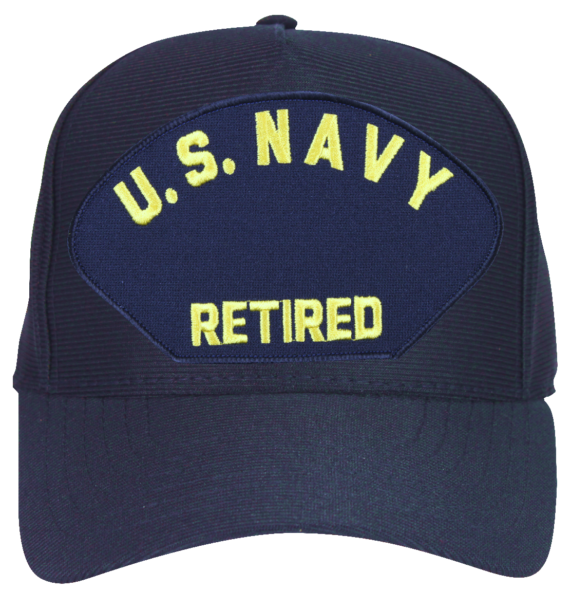 U S Navy Retired Letters Only Ball Cap