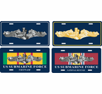 U.S. Navy Submariner License Plates