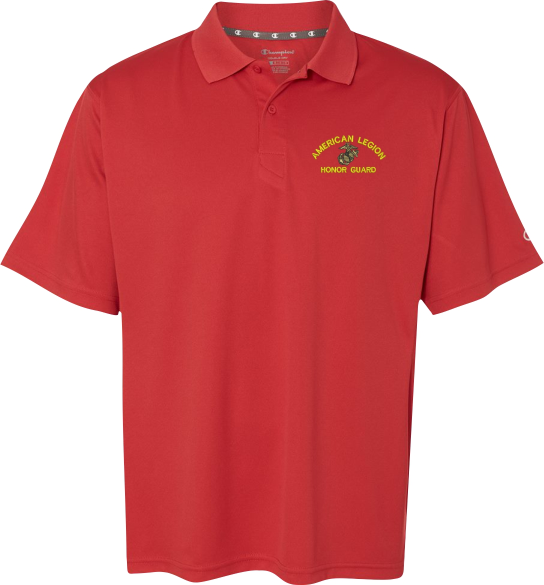 United states marine corps custom embroidered moisture for Personalised embroidered polo shirts
