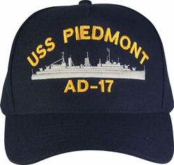 United States Navy Custom Embroidered Ship Ball Caps