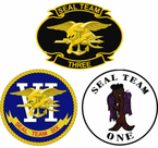 United States Navy Seal Team Patch Decals Stickers