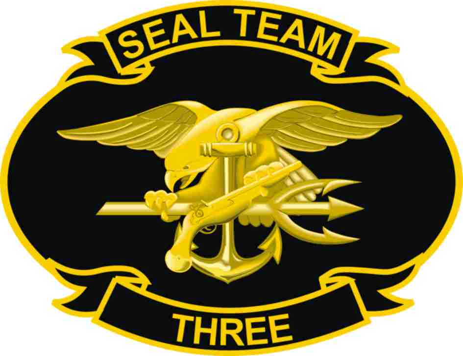 United States Navy Seal Team Three Decal
