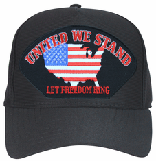 'United We Stand, Let Freedom Ring' Ball Cap